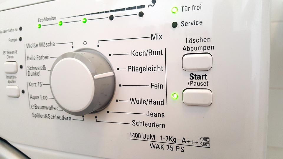 programm auswählen waschtrockner